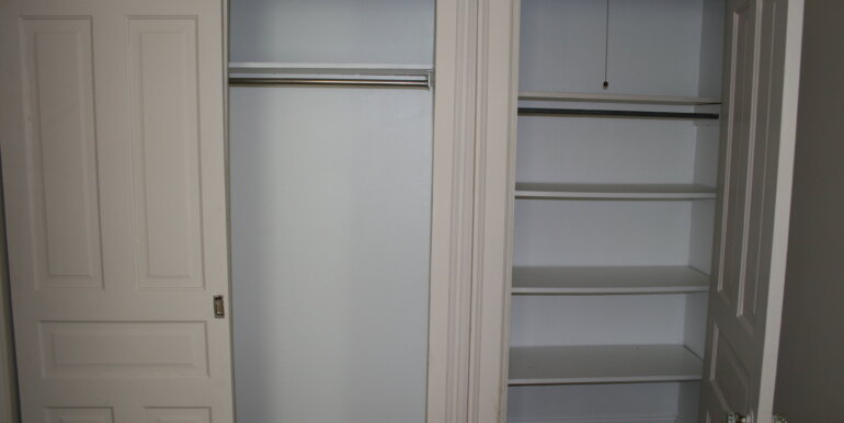 327 W 8th #2 Bedroom Closet